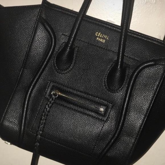 Celine Handbags - FIRM PRICE! Celine Mini Luggage 30c7d4a83da9e